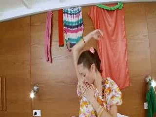 Thin russian chick Natasna vibrating