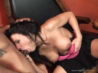 Kendra Secrets warps her lips round a hard prick