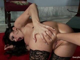 Sexy Isis Love enjoys fisting Eva Karera's hot asshole