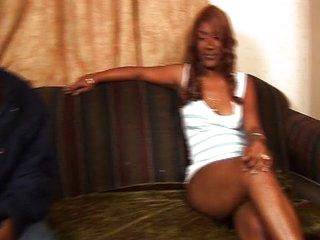 Ebony bitches showing off