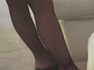 Retro Brunette doing anal by Samx1x