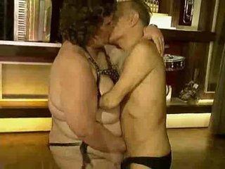 Wild granny party video