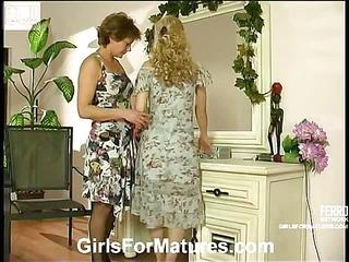 Tessa&Katrine live lesbian mature action