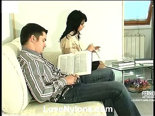 Gertie&Adam nasty nylon video