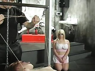 Rick Savage beats her sexy tits red
