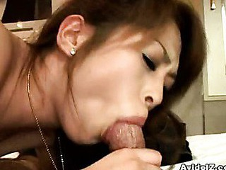 Hikaru like the feel of wang against her lips. So when her guy suggests his straining sausage,  that babe hungrily wraps her lips around her stud's cockhead. That Babe sucks on eagerly whilst this chab fingers her snatch.  Hikaru works on her dude's dong when it gets large, ruddy and ready to explode!  With her efforts, that..