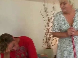Awesome sex with granny
