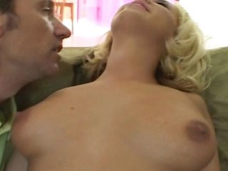 Beautiful blonde goddess gets her sweet and tight little ass fucked