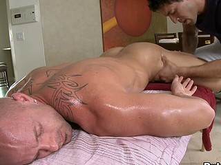 Great asshole is penetrated and dick is sucked very deep and hot!