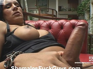 Lascivious shemale is interested in whoring guy