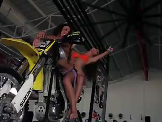 Watch how this girls are having a wild vacation out there in panama! See them going badass with all these wild extreme sports. They surf, they ride hills, they ride wake boards. And these babes have so much alcohol that they're doing all of these with showing everyone their tight bodies with amazing big boobs and ass!