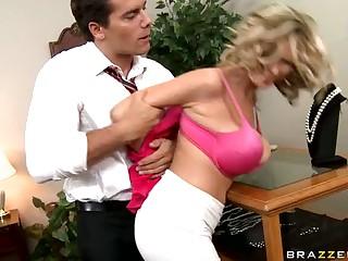 Busty Blonde Slut Katie Kox Loves Dominance Games and Rough Sex