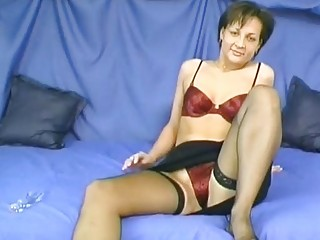 Hot German mom wants his cum