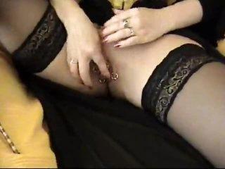 Pierced goddess in a sexy corset