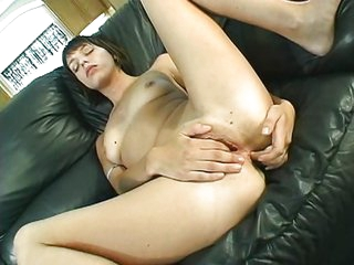Teen girl getting analized