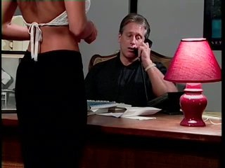 Submissive Sexcretary Skye Blue Gets Her Hot Ass Spanked By Her Boss