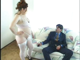 Pregnant MILF Scarlette Kitty Gets Fucked and Then Swallows Hot Cum