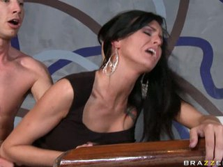 Sea J Raw gets a good hard fucking from a real mean hard cock.