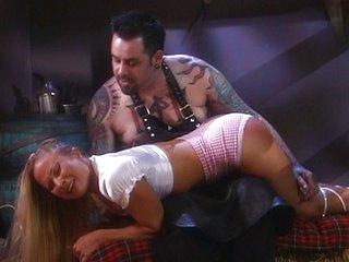 Blond farm girls bondage sex is amazing