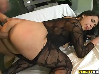 Doggy style fuck with bubble butt Valerie Kay