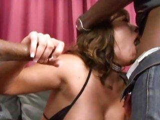 Alluring Ava Devine gets her moist throat slammed