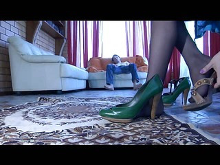 Laura&Rolf kinky nylon feet movie