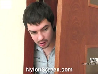 Rachel&Adam nasty nylon video