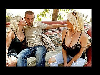 Holly Halston owns a beautiful ranch with horses, other farm animals, and that babe likewise has a daughter. Her daughter is a little bit slutty and always brings home guys with huge dicks. Like mother like...daughter Holly passed on her slutty behaviors to her daughter. Holly benefits from this 'cuz this babe very captivating..