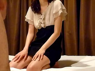 Turned on by their sexy foreplay, the Asian amateurs undress and kiss and stroke each other's naked body. The girl gives her boyfriend a hungry blowjob and he fucks her hairy slit.