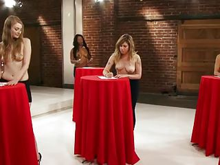 On this episode of The Truth About Sex, there is a discussion going on that attempts to figure out if big-breasted women are smarter than small-breasted women. Women give their opinions in interviews and a group of women with different breast sizes take tests in an experiment to see if it's true.