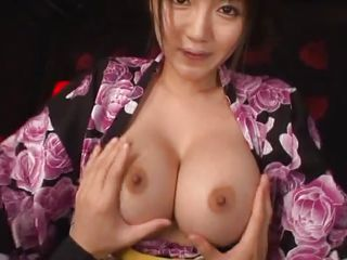 Yuuri's young and firm breasts are perfect for groping and much more. She smiles while I play with her boobs and seem to get horny from what I do. Her smile excites me and those sweet tits makes me thinking of what I could do with them and my dick. Would you like to stay with us and delight yourself with her?