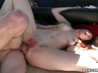 See this gorgeous redhead taking it deep into her ass as she screams and moans of pleasure. This girl really knows how to make a man happy moving her perfect body in all directions to make him sweet. Will the finish be a glorified cumshot on her face that will make her beg for more or in her mouth?