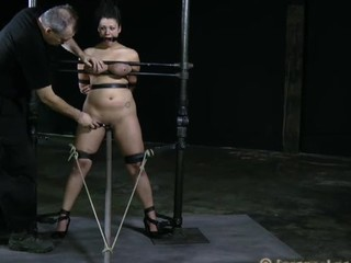 Tough loveliness is gagged up and caned zealously