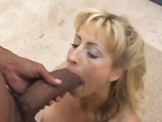 Cock is super thick inside hot milf
