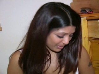 Real indian babe taking everyday guys for real!