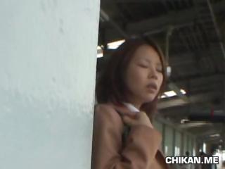 Shocked Schoolgirl groped by Stranger