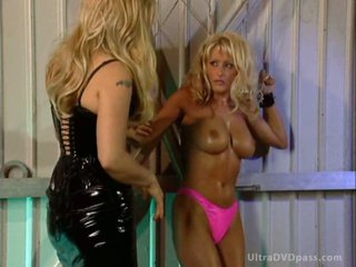 Dominant Couple Abducts and Tortures a Submissive Blonde With Big Knockers