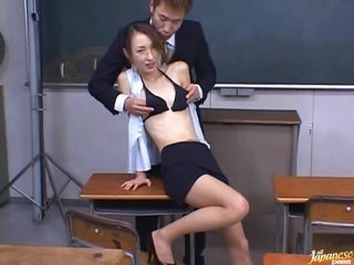 Fucking The Hot Asian Teacher