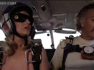 Angela Aames Skydiving Topless