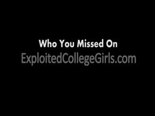 Blonde Teen College Girl