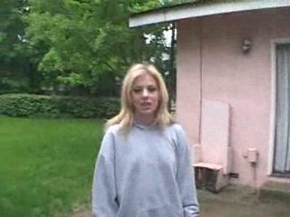 Blonde Teen Takes It Hard