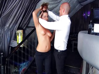 Anal in the club with beauty Amanda