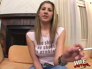 Lisa Marie tastes a really big black dick