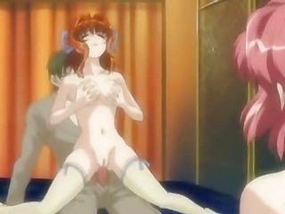 Enjoy rough anal sex in insane anime