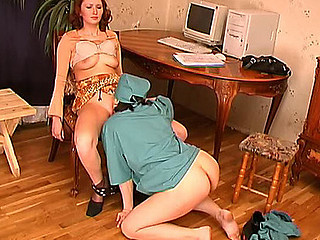 Older nurse prescribing a beauty tit licking and bawdy cleft eating procedures