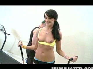 Becky is a smoking hawt sexy mother I'd like to fuck with an athletic body. This Babe likes bulky dicks in her mother I'd like to fuck love tunnel. After jumping around in her workout mode, that babe gets horny for some dude meat to stuff her each hole....