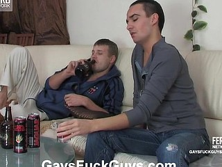 Having a thing for his ally a gay guy seducing him into backdoor fucking