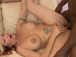 Brittany Blaze was hawt to trot and couldn't await to flash her large boobs at the next available meat puppet.  That Babe found just the right guy to plug her cookie, and that babe climbed on top of him to feel the full length of his meat stick unfathomable inside her and filling her up with cream.