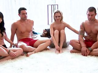 Just when these guys thought that they know everything that there is to know about sex this lady disabuses them of the notion as they learn things about their own as well that of their partners as well that they did not suspect opening a whole new world of opportunities and infinite possibilities.