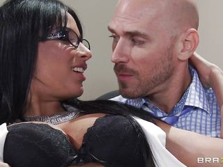 Anissa Kate is a hot important babe with big natural tits. Look at her long dark hair her hot body and the way she moans when that guy touches her sexy tits. Is she going to get some jizz on her pretty face or some hard cock in her tight wet pussy?